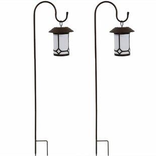 Orpha Traditional Solar Outdoor Hanging Lantern (Set Of 2)