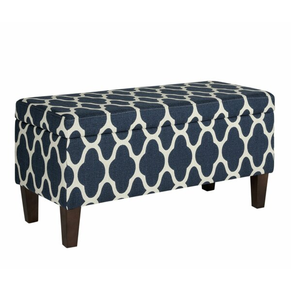 Zadie Upholstered Storage Bench by Red Barrel Studio Red Barrel Studio