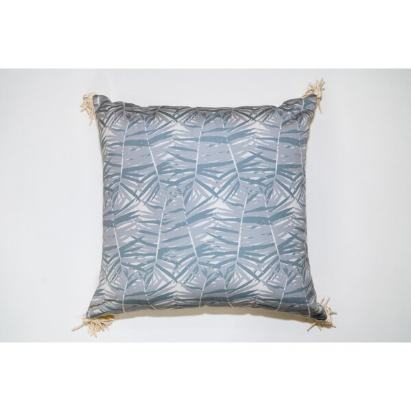 Canary Palm Square Outdoor Throw Pillow by Jiti