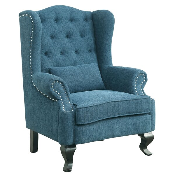 Mareena Wingback Chair by Enitial Lab