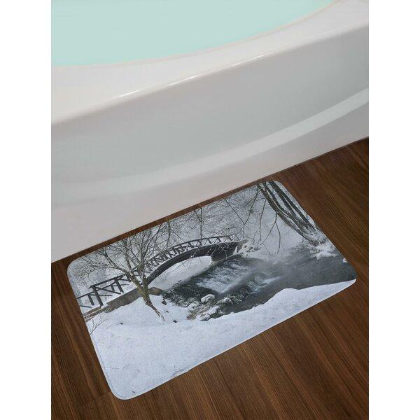 Snow Season Winter Bath Rug By East Urban Home.