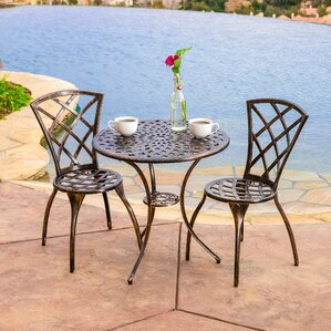 Hearst 3 Piece Bistro Set Part 54