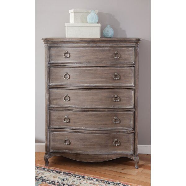 Maximilian 5 Drawer Chest by One Allium Way