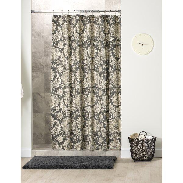 Nessa Cotton Shower Curtain by Alcott Hill