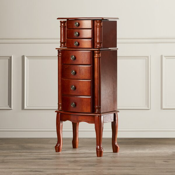Redfern Jewelry Armoire with Mirror by Astoria Grand