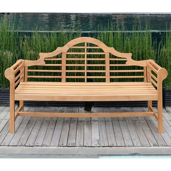 Tiara Teak Garden Bench by Charlton Home