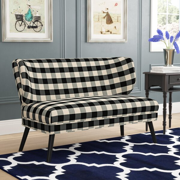 Sydnor 51.5'' Armless Settee By Winston Porter