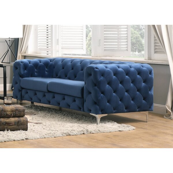 Rohrbach Loveseat by House of Hampton House of Hampton