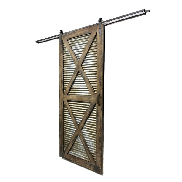 Solid Wood Room Dividers Slab Interior Barn Door by Wilco Home