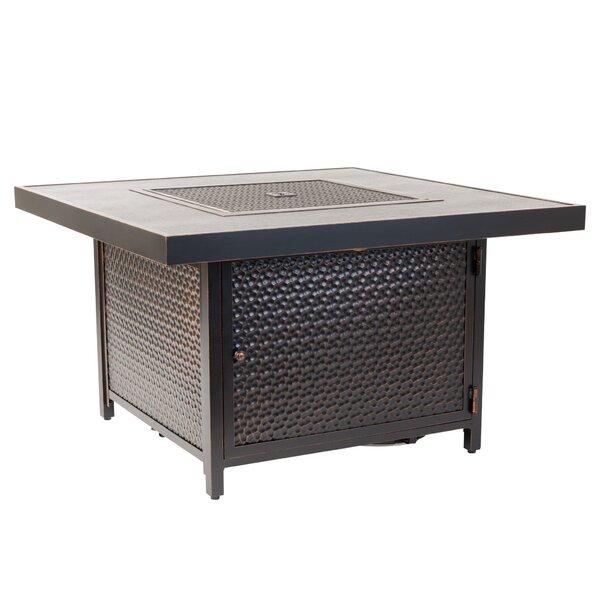 Weyland Aluminum Propane Fire Pit Table by Fire Sense Fire Sense