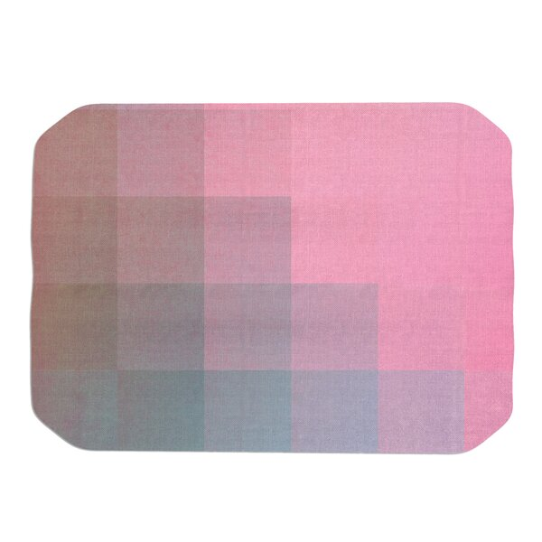 Danny Ivan Girly Pixel Surface Placemat by East Urban Home