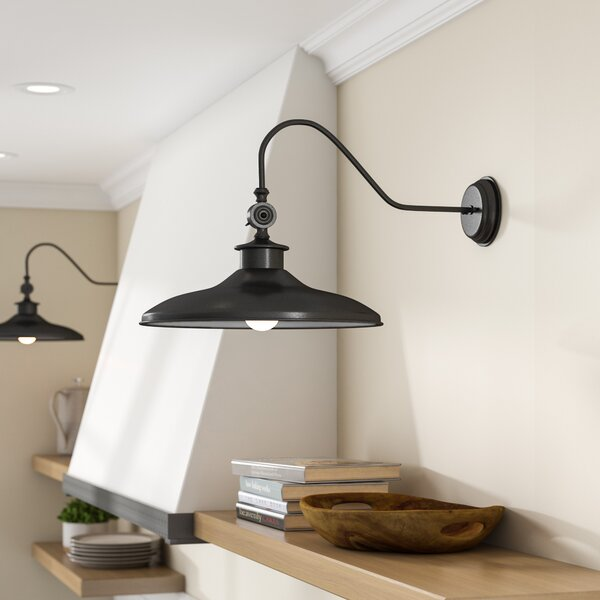 Kitchen Lighting Fixture Sets: Laurel Foundry Modern Farmhouse Spartansburg 1-Light Barn