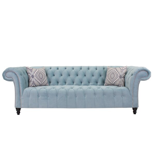 Recommend Saving Julio Chesterfield Sofa by Rosdorf Park by Rosdorf Park