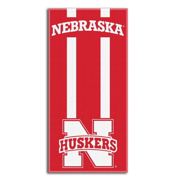 NCAA Zone Read Beach Towel by Northwest Co.