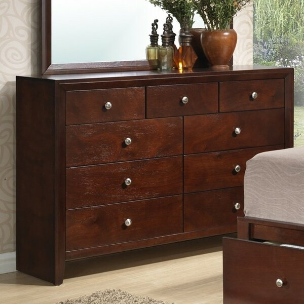 Seth 9 Drawer Dresser by Charlton Home