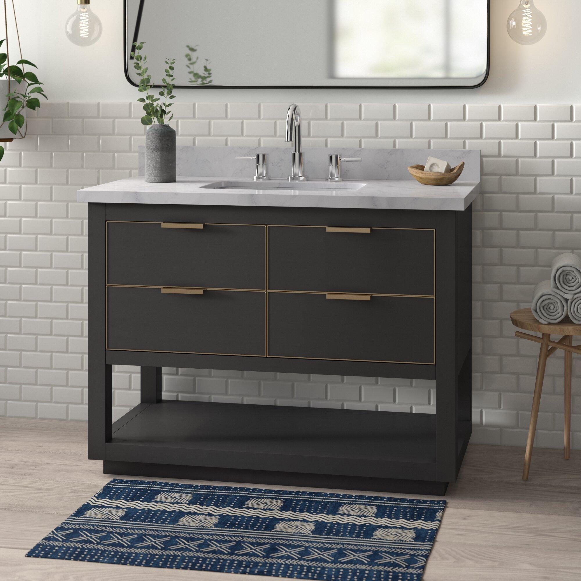 Edmund 43 Single Bathroom Vanity Set