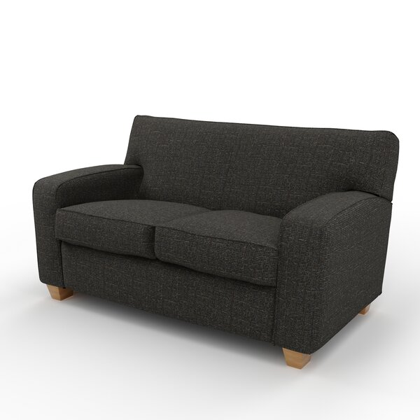 Galveston 63 Inches Square Arms Loveseat By Maxwell Thomas