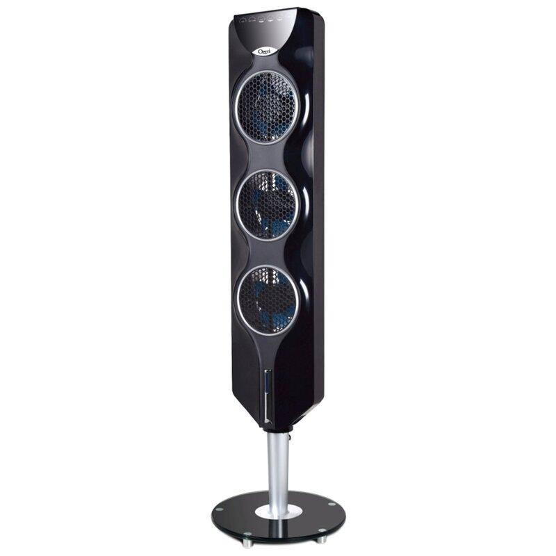Ozeri 44 Tower Fan With Passive Noise Reduction Technology Reviews Wayfair