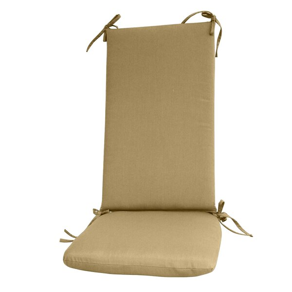 Indoor/Outdoor Sunbrella Rocking Chair Cushion by Fiberbuilt