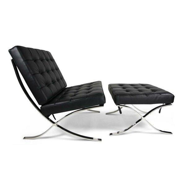 Wimbush Lounge Chair And Ottoman