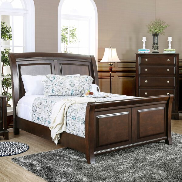 Harvell Sleigh Bed by Red Barrel Studio