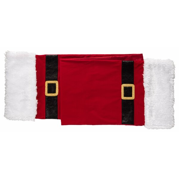 Robert Santa Belt Table Runner by The Holiday Aisle