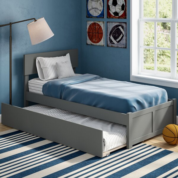 Amodio Twin Platform Bed with Trundle by Mack & Milo