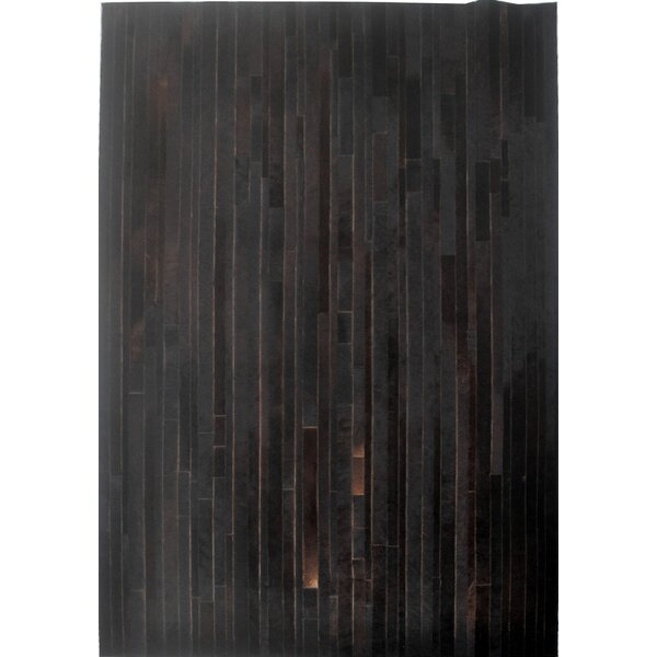 Dark Brown Area Rug by Modern Rugs