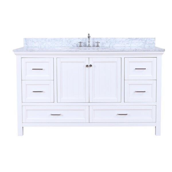 Paige 60 Single Bathroom Vanity Set by Kitchen Bath Collection