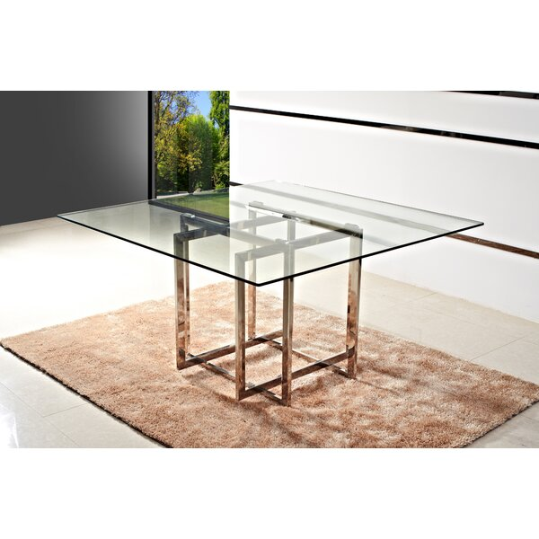 Cevenola Dining Table by Orren Ellis