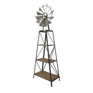 Stockbridge Windmill Etagere Bookcase ByAugust Grove
