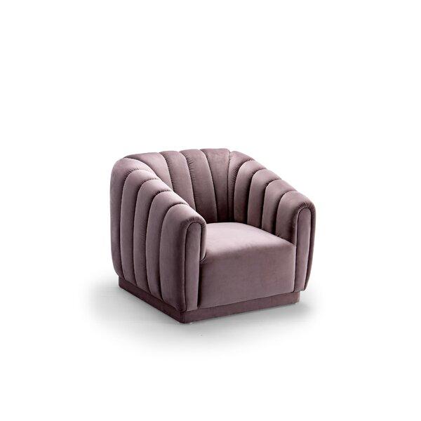 Darley Barrel Chair by Everly Quinn