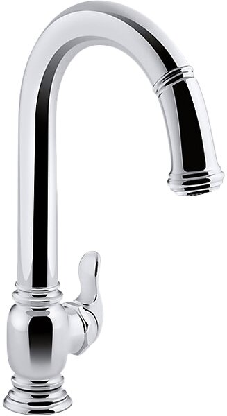 Beckon Touchless Pull-Down Kitchen Sink Faucet with DockNetik® and ProMotion™ by Kohler