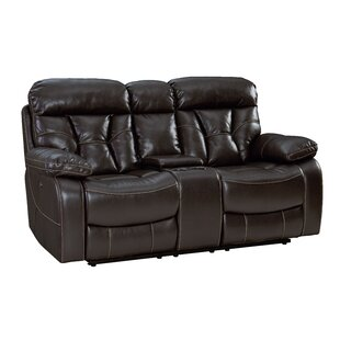 Ellenton Reclining Loveseat with Pillow Top Arms by Red Barrel Studio