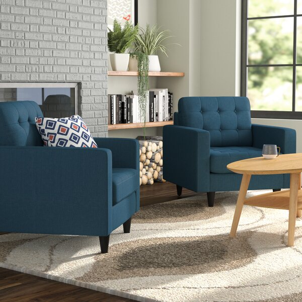 Warren Armchair (Set of 2) by Langley Street Langley Street™
