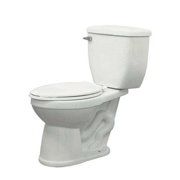 Avalon 1.6 GPF Elongated Two-Piece Toilet by Transolid