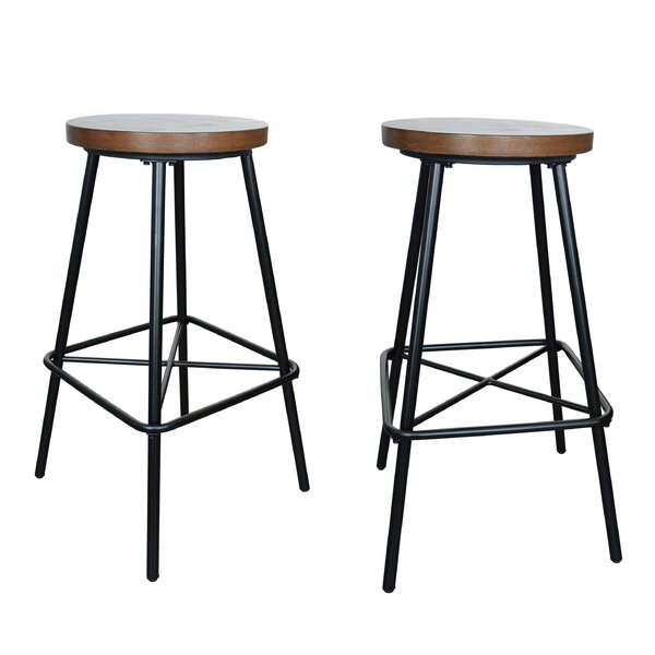 Beatty 30 Bar Stool (Set of 2) by Williston Forge