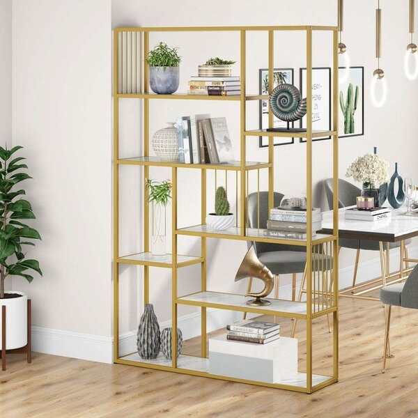 Spires Geometric Bookcase By Mercer41