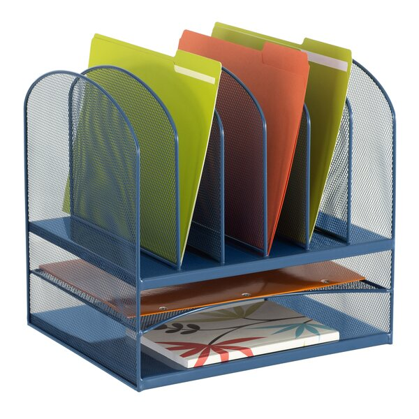 Horizontal Mesh Desktop Organizer by Rebrilliant