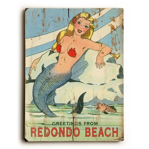 Vintage Mermaid Vintage Advertisement by Artehouse LLC