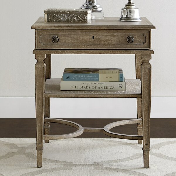 Wethersfield Estate End Table with Storage  by Stanley Furniture