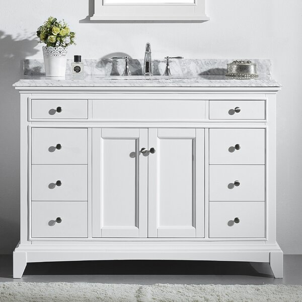 Pineville 42 Single Bathroom Vanity Set by Charlton Home