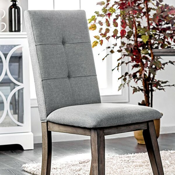 Reynolds Upholstered Dining Chair (Set of 2) by Gracie Oaks