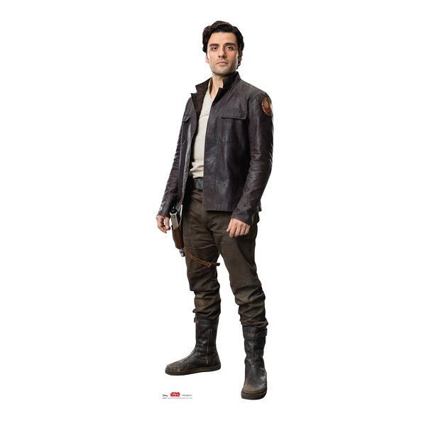 Star Wars VIII the Last Jedi Poe™ Cardboard Cutout Standup by Advanced Graphics