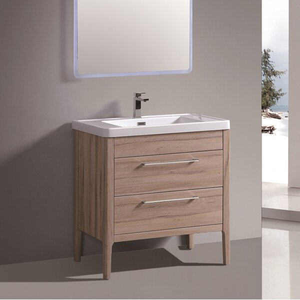 Gillette 30 Single Bathroom Vanity Set by Orren Ellis