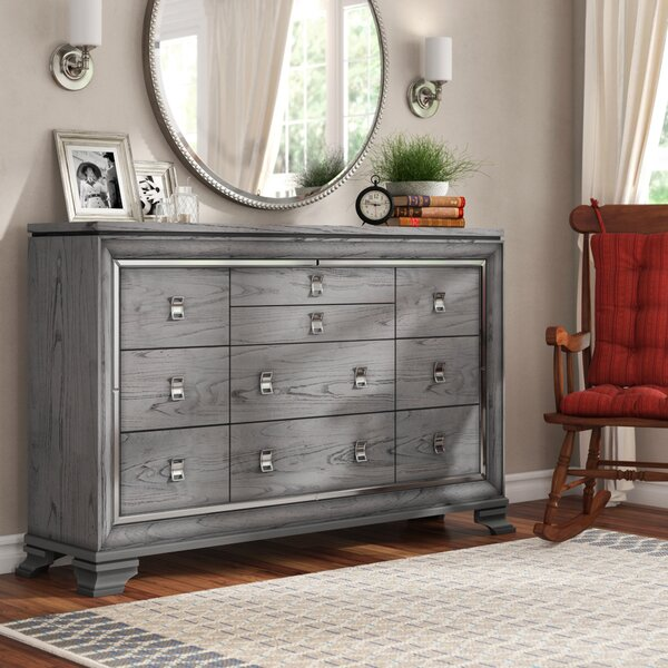 Orrwell 10 Drawer Dresser by Everly Quinn