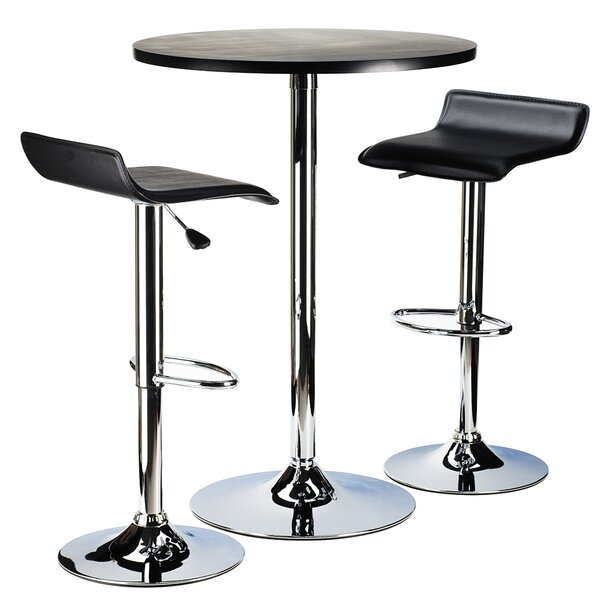 Ultimo 3 Piece Pub Table Set by Latitude Run