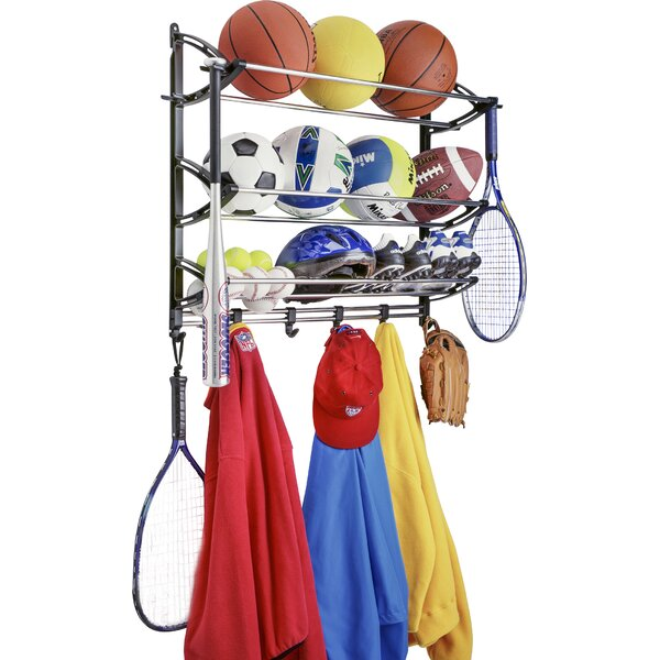 Wall Mounted Sports Rack by Lynk®