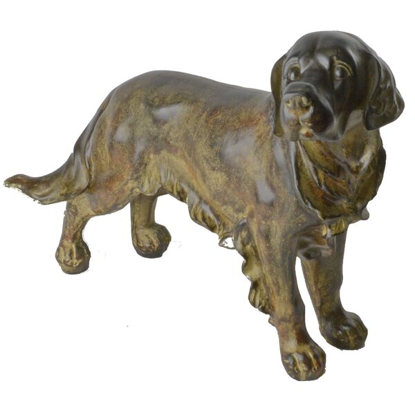 Townville Contemporary Dog Figurine by Darby Home Co