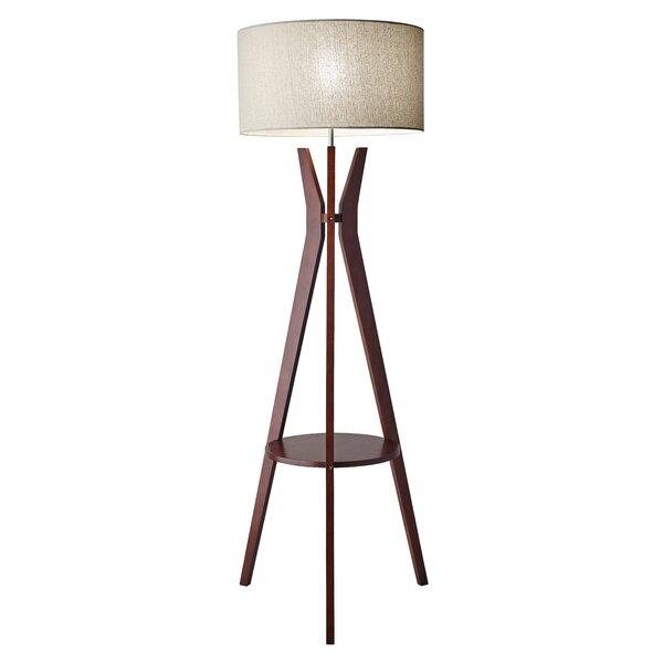 Adesso bedford 595 tripod floor lamp reviews wayfair aloadofball Gallery